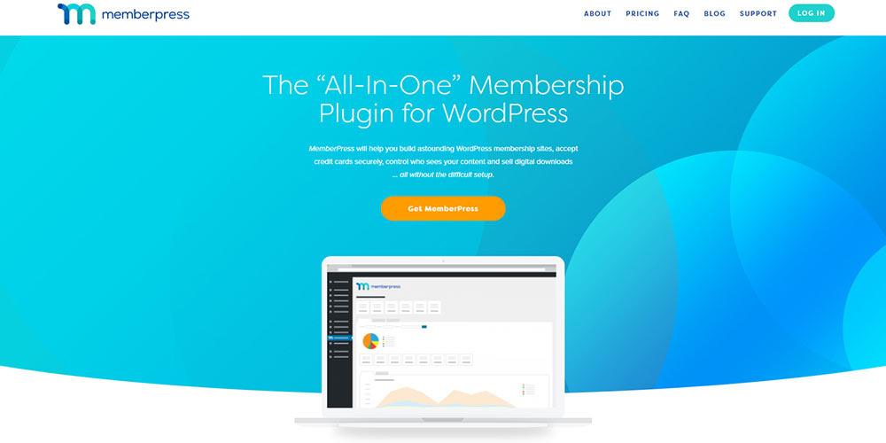 MemberPress WordPress membership plugin banner
