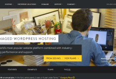 Media Temple managed WordPress hosting