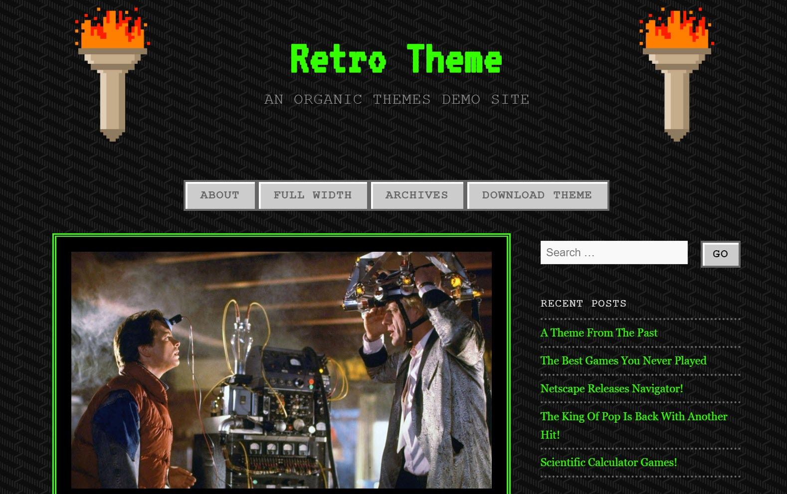 90s-Retro-Theme