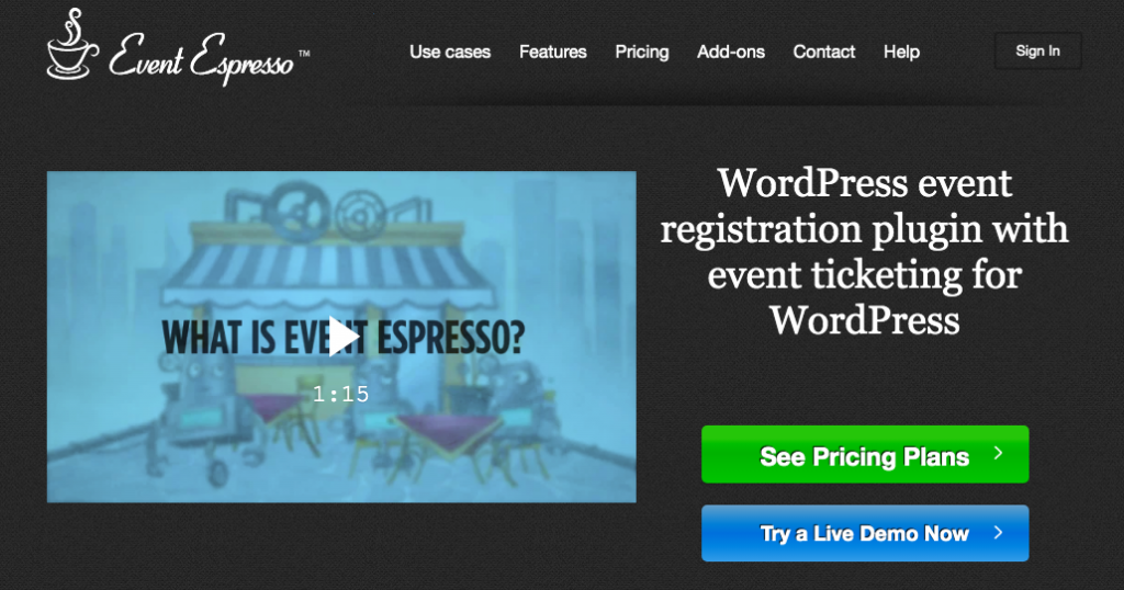 Event Espresso Ticket Auctions plugin banner image