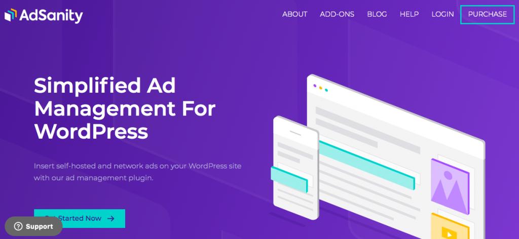 AdSanity banner WordPress ad plugin