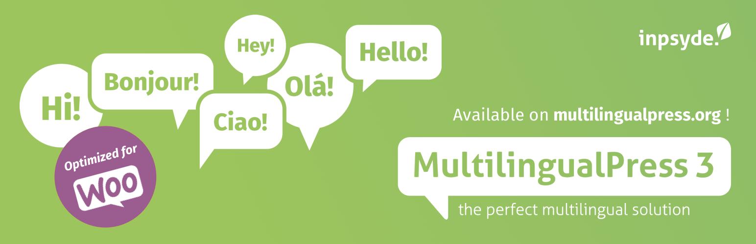 Banner image for WordPress translation plugin MultilingualPress