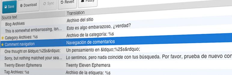 Banner image for WordPress translation plugin Loco