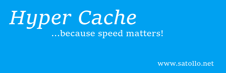 Banner image for WordPress caching plugin Hyper Cache