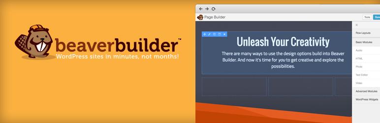Image for WordPress page builder plugin Beaver Builder