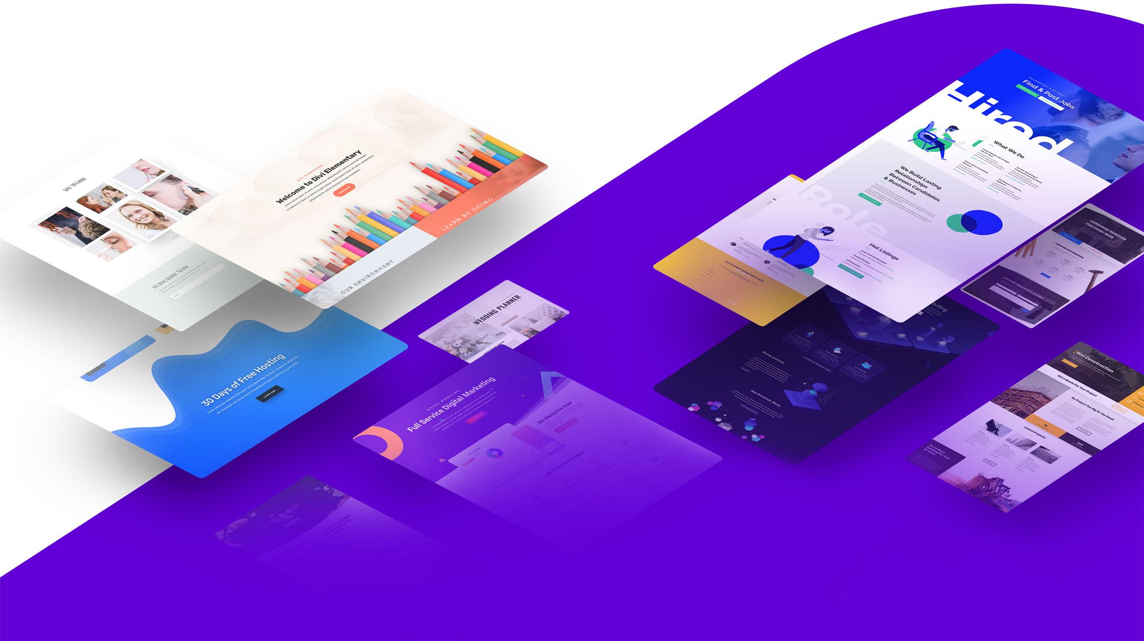 Banner image for WordPress page builder plugin Divi
