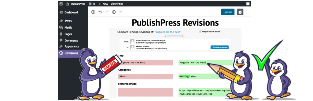 PublishPress Revisions plugin banner
